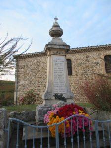 3. Monument aux morts de Saint-Etienne-de-Valoux
